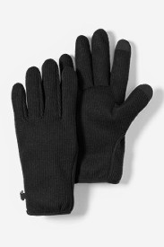 Mens Hiking Gloves: Men's Windcutter Fleece Touchscreen Gloves
