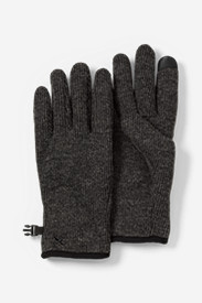 Wool Accessories for Men: Men's Windcutter® Fleece Touchscreen Gloves