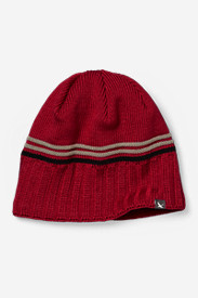 Red Hats for Men: Snowline Beanie