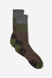 Point6® Light Hiker Crew Socks - Block Stripe