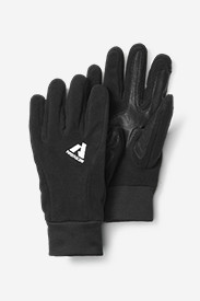 Mens Hiking Gloves: Leather Palm Mountain Gloves