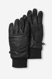 Accessories for Men: Mountain Ops Leather Gloves