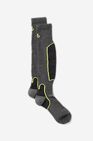 Spandex Accessories for Men: Point6® Lightweight Over-the-Calf Ski Socks