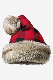 Fleece Hats for Women: Santa Hat