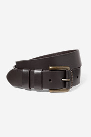 Accessories for Men: Men's American Sportsman Leather Belt