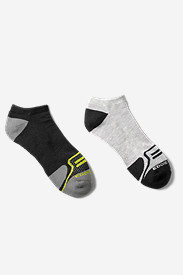 Spandex Accessories for Men: Men's Active Pro COOLMAX® Low Socks - 2 Pack
