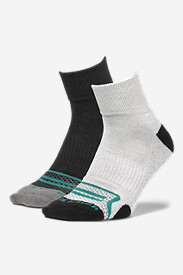 New Fall Arrivals: Men's Active Pro COOLMAX Quarter Socks - 2 Pack