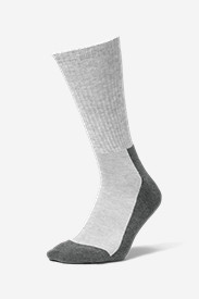 Nylon Socks for Men: Men's Trail COOLMAX Crew Socks