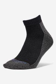 Nylon Socks for Men: Men's Trail COOLMAX Quarter Socks