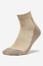 Nylon Accessories for Men: Men's Trail COOLMAX Quarter Socks
