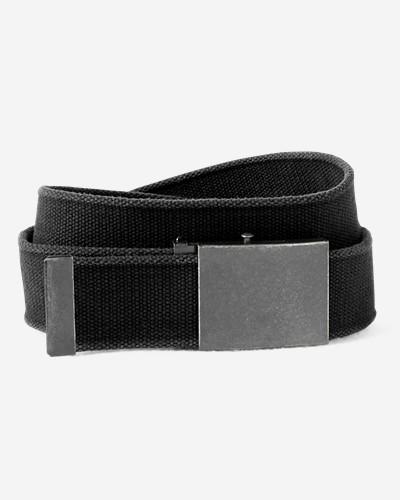 Men's Web Plaque Belt