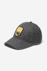 Wool-Blend Graphic Cap