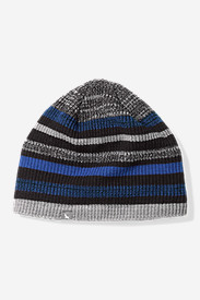 Blue Hats for Women: Cascadian Stripe Beanie