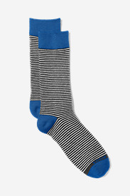 Men's Crew Socks - Stripe