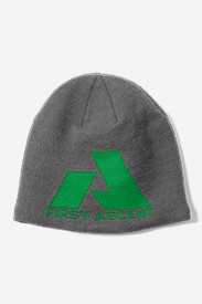 Gray Accessories for Women: Telemetry First Ascent Beanie
