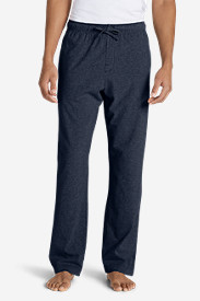 Blue Pajamas for Men: Men's Jersey Sleep Pants