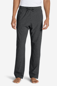Cotton Pants for Men: Men's Jersey Sleep Pants