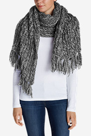 Gray Accessories for Women: Women's Larkspur Sweater Scarf