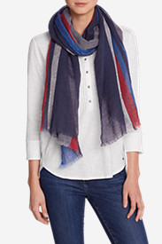 Women's Lake Serene Nautical Stripe Wrap