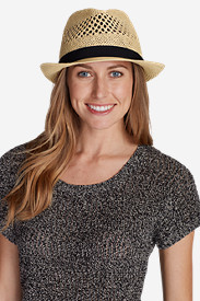 Women's Packable Fedora Hat