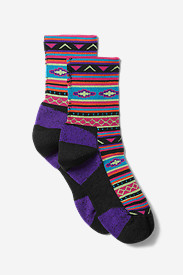Nylon Socks for Women: Women's Point6 Taos Crew Socks