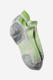 Gray Accessories for Women: Women's Point6 Low Pro Tab Socks