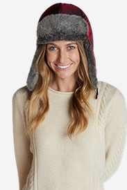Insulated Accessories for Women: Women's Yukon Down Trapper Hat