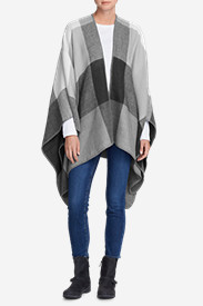 Women's Vesper Blanket Shawl - Plaid