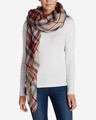 Accessories for Women: Women's Blakely Plaid Blanket Scarf