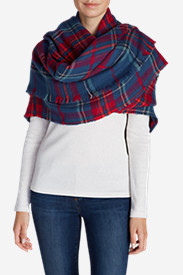 Women's Blakely Plaid Blanket Scarf