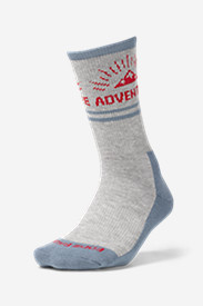 Women's Trail COOLMAX® Crew Socks - Pattern