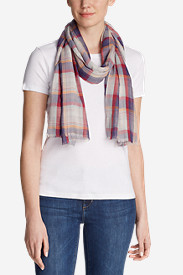 Women's Shoreline Plaid Scarf