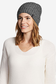 Women's Crescent Knit Beanie