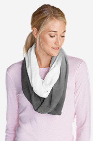 Women's Dip-Dye Loop Scarf