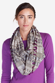 Cotton Accessories for Women: Women's Baja Woven Loop Scarf