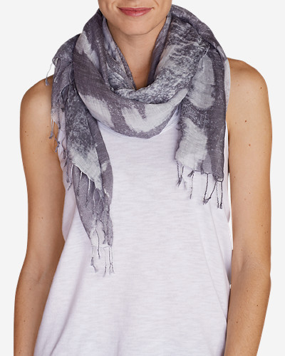Gray Accessories for Women: Women's Patriotic Oblong Scarf