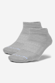 Gray Accessories for Women: Women's COOLMAX Low Profile Socks - 2 Pack