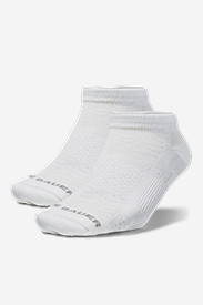 White Socks for Women: Women's COOLMAX® Low Profile Socks - 2 Pack