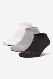 Gray Accessories for Women: Women's COOLMAX Mesh Socks - 3 Pack