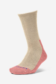 White Socks for Women: Women's COOLMAX® Trail Crew Socks