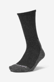Gray Accessories for Women: Women's COOLMAX Trail Crew Socks