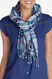 Women's Weekend Getaway Oblong Scarf - Plaid