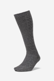 Gray Accessories for Women: Women's Boot Socks