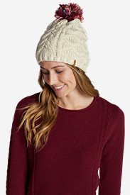 Fleece Hats for Women: Women's Crux Pom Beanie