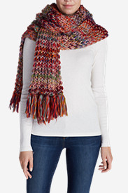 Women's Larkspur Space Dye Sweater Scarf