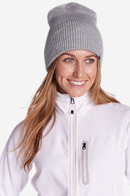 Gray Accessories for Women: Shasta Beanie