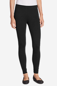 Spandex Leggings for Women: Women's Heavyweight Wide Waistband Leggings