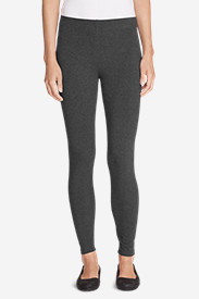 Spandex Leggings for Women: Women's Full-Length Wide Waistband Leggings