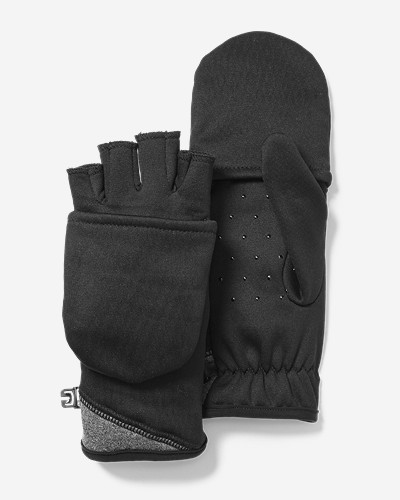 Gloves for Women: Women's Power Stretch Convertible Gloves