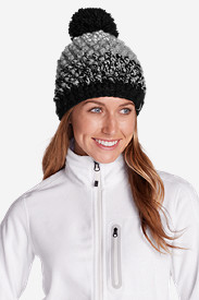 Gray Accessories for Women: Women's Esla Pom Beanie